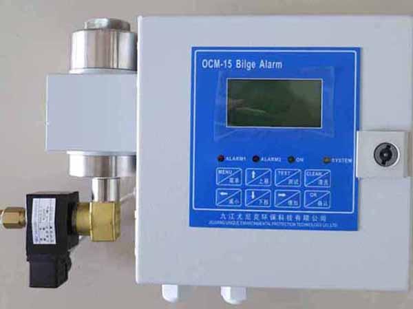 15ppm艙底水報警裝置應用